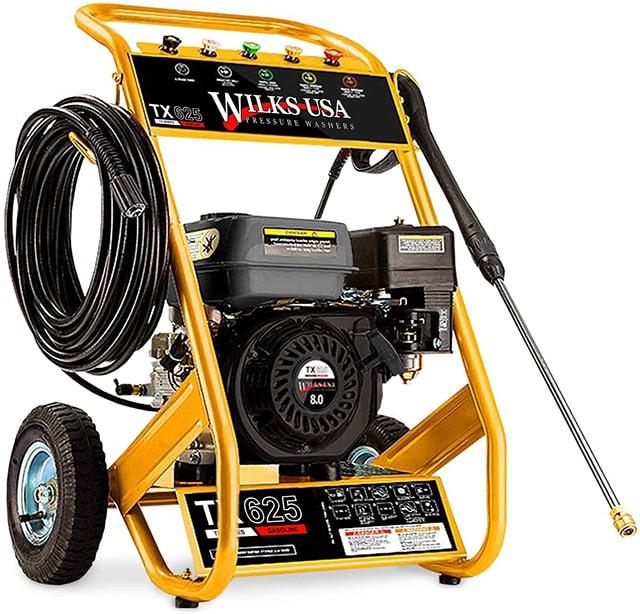 Wilks-USA TX625 - Nettoyeur haute pression professionnel à Essence Très Puissant
